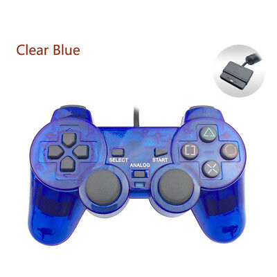 Wired Gamepad Controller Joystick Double Vibration For Sony PS2 PlayStation 2