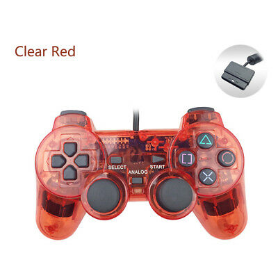 wired gamepad joystick for Sony PS2 playstation 2 controller Double Vibration