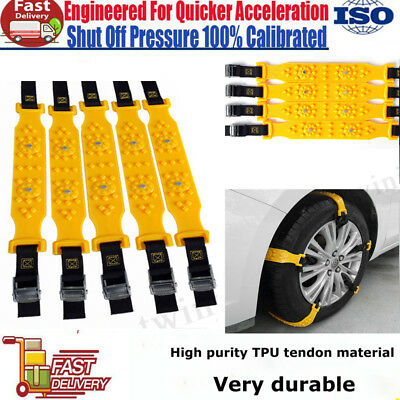 Winter Anti-skid Chains for Car Snow Mud Wheel Tyre Thickened Tire Tendon new