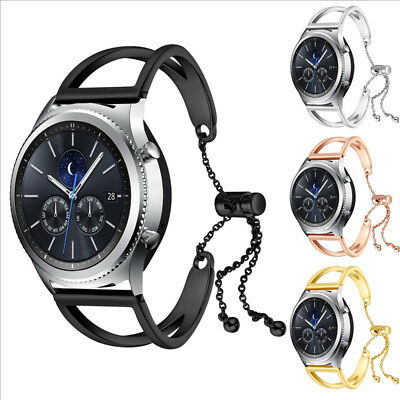 For Samsung Gear S3 Classic / Frontier Stainless Steel Strap Watch Band Bracelet