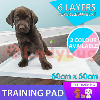 Puppy Pet Dog Cat Indoor Toilet Training Pads Absorbent 100/200/300/400
