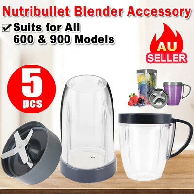 Replacement Blade Cup Extractor Flip Top Lid For NUTRIBULLET Blender 600W 900W