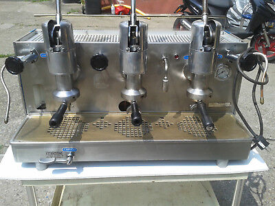 Faema 3 Groups Handlever Espresso Machine Electricity and gas Ready
