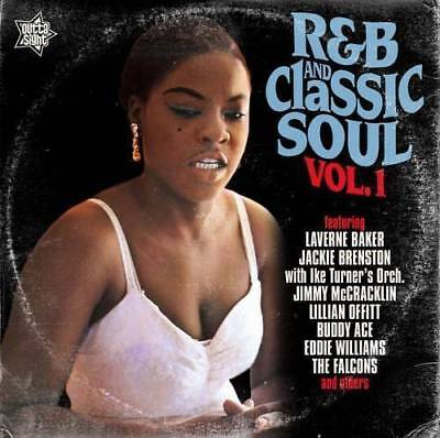 R&B AND CLASSIC SOUL VOL 1 Various Artists NEW SEALED CD (OUTTA SIGHT) NORTHERN