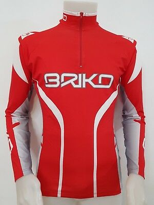 Maglia Shirt Jacket Ciclismo Briko Tag.m Camiseta Cyclism Bike Bici Cycling A78