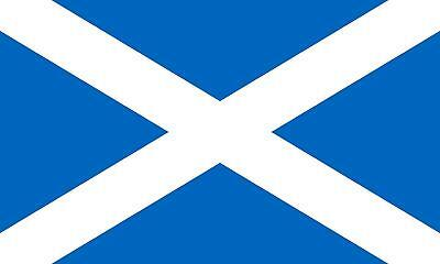 SCOTLAND SALTIRE FLAG 3FT x 2FT LARGE NATIONAL SCOTTISH COLLECTABLE SOUVENIR YES