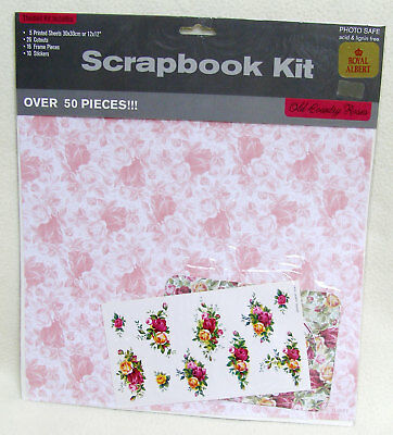 UR1 Scrapbook Kit ~ Old Country Roses