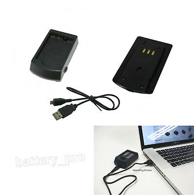 USB Battery Charger For Nikon EN-EL14A ENEL14A DSLR D5100, D3100 Digital Camera
