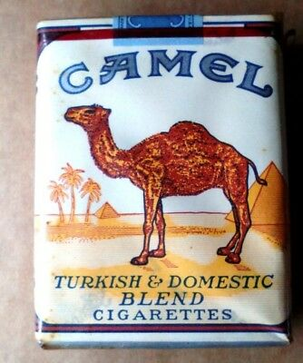 """1 VINTAGE ('60s-'70s) COLLECTIBLE CIGARETTE PACK - """"CAMEL"""" - **SEALED!** - EMPTY"""