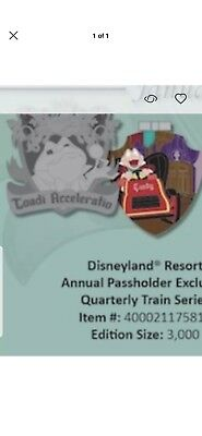 Disney Pin of the Month Crests of the Kingdom Mr. Toad's Wild Ride presale 1/24