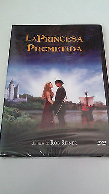 "Dvd ""La Princesa Prometida"" Precintado Sealed Rob Reiner Cary Elwes Billy Crista"