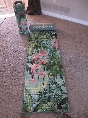 2 X Tommy Bahama Beach Roll-Up Quilted Mats * 1 Pillow In Each * Nwt  X 2