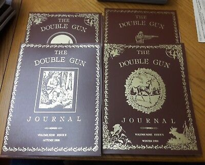1998 Double Gun Journal  Volume 9.  4 issues complete set.