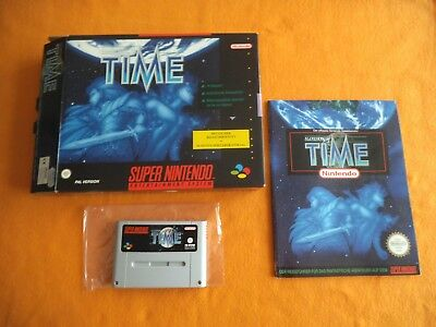 Illusion of Time Big Box inkl Spieleberater in OVP Super Nintendo SNES