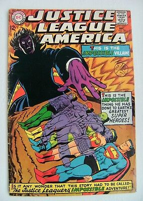 Justice League of America Vol.1 no.59 Dec.1967 VG+