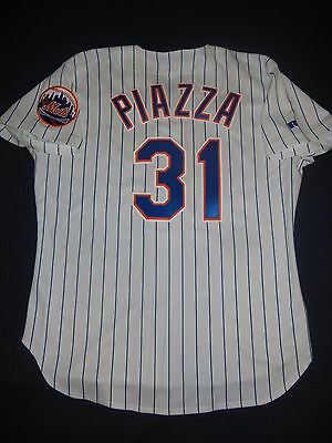 d2d2ff104 ... order mike piazza russell athletic authentic new york mets ny jersey  home 1998 48 hof 0c8ff