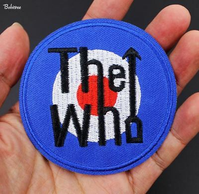 The who Badges Band Music Rock Punk Biker Iron On Applique Patch New