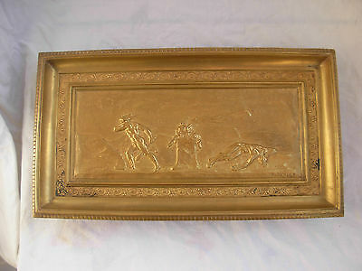 Rare Antique French Gilt Bronze Table Centerpiece,signed E.picault