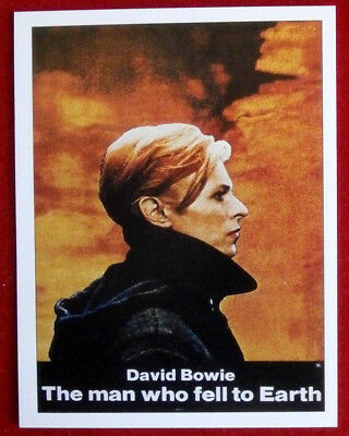 DAVID BOWIE - Individual Trading Card - Card #07 - The Man Who Fell To Earth