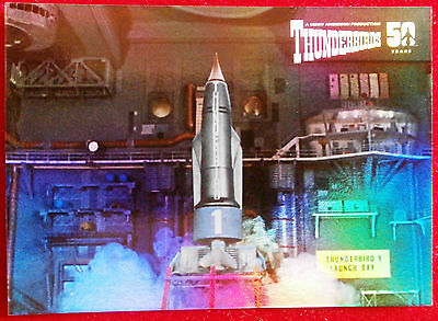 THUNDERBIRDS 50 YEARS - FOIL CHASE CARD - F2 - Thunderbird 1 - Unstoppable Cards