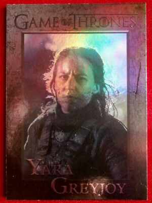 GAME OF THRONES - YARA GREYJOY - Season 4 - FOIL PARALLEL Card #47
