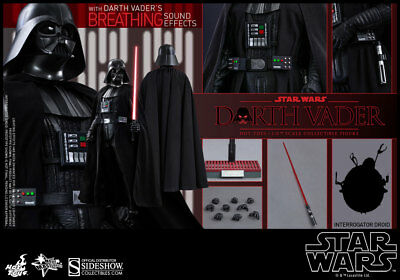 Hot Toys Star Wars : Episode Iv A New Hope Darth Vader 1/6Th Scale Figure Mms279
