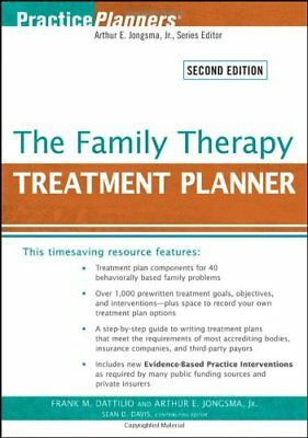 [PDF] The Family Therapy Treatment Planner 2nd Edition by Frank M. Dattilio