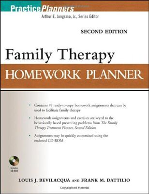 [PDF] Family Therapy Homework Planner Second Edition 2nd Edition by Louis J Bevi