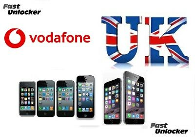 Vodafone UK official factory unlock code for apple iphone 6 6+ Plus 5s 5c 5 4s 4
