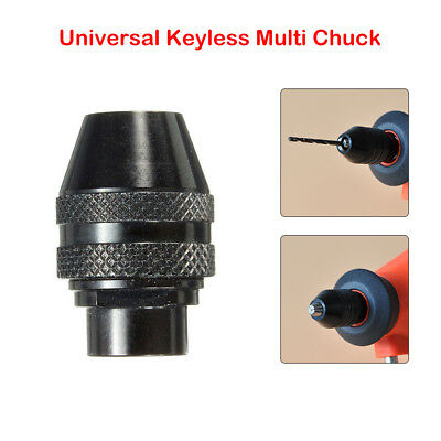 Multi Chuck Quick Change Adapter 1/4'' Drill Bit For Dremel Rotary Accessory Kit