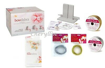 DARICE BOWDABRA LARGE OR MINI BOW MAKER for favors, florist, crafts / BOW WIRE