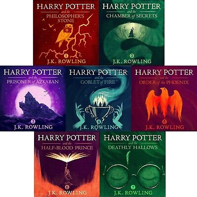Harry Potter Unabridged Audiobooks narrated by Stephen Fry