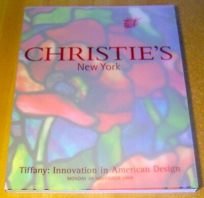 Christie's ~ Tiffany Innovation In American Design Glass Lamps ~ 1999