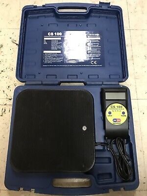 Bacharach CS100 CS 100 Refrigerant Charging Scale #2010-0000
