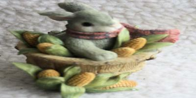 My Blushing Bunnies - A Sweet Basket of Blessings  #277835 Enesco