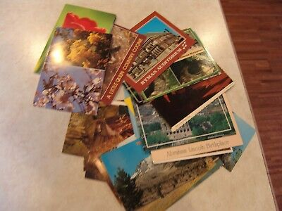 Lot Of 37  Vintage  Colored Postcard