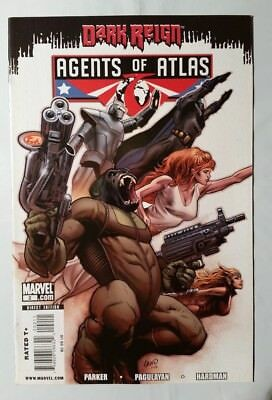 Marvel Comics Agents of Atlas #2
