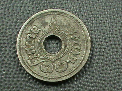THAILAND   10 Satang   1921  ( 2464 )   ,   $ 2.99  maximum  shipping  in  USA