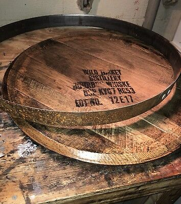 Bourbon/Whiskey Barrel Head/Top/Lid Authentic distillery stamp SEALED