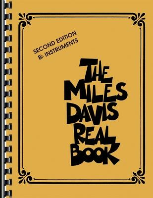 Miles Davis Omnibook For Eb Instruments Artist Transcriptions Book NEW 000122267