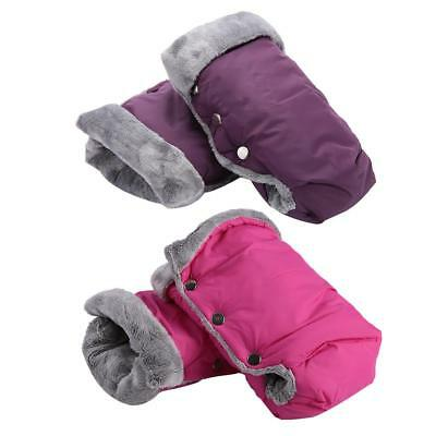 Soft Glove for Outdoor Trolleys Winter Baby Stroller Gloves Waterproof Pram Warm