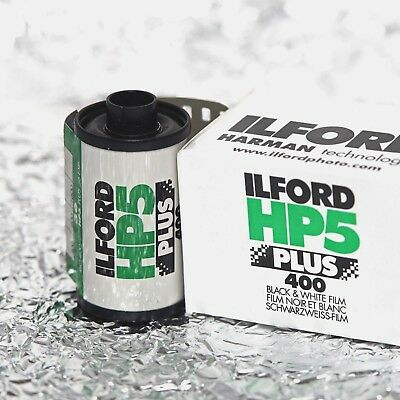 *NEW* Ilford HP5 Plus 400 35mm (36 exp) film