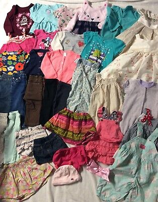 47068998f HUGE LOT OF 12 Month Baby Girl Fall Winter Clothes Outfits -  62.50 ...