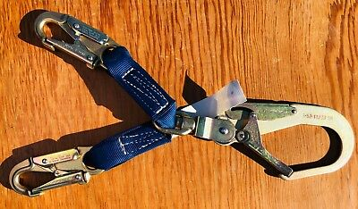 Falltech 725012W Fall Protection Positioning Lanyard  Looks Unused!