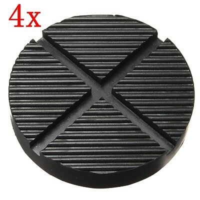 Rubber Pad Car Cross Slotted Frame Rail Floor Adapter For Car Pinch Weld Side