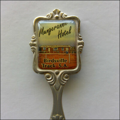 Mungerannie Hotel Birdsville Track SA Souvenir Spoon Teaspoon (T193)