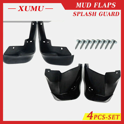 XUMU 4x Front/&Rear Splash Guard Mud Flaps for Subaru Legacy 2011 2012 2013 Sedan