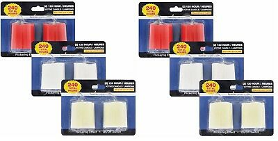 Lot 6 Packs, 2-ct. packs of 2-in. Luminessence Flameless LED Votive Candles.