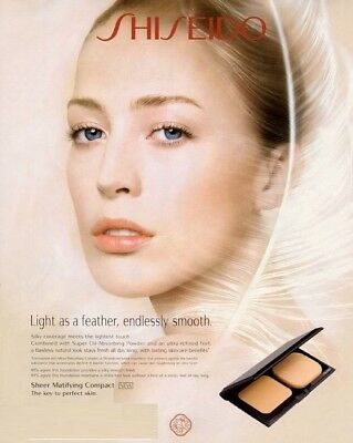 Shiseido Sheer Matifying Compact Refill Foundation  beige, ochre, brown, ivory