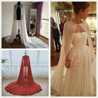 White Ivory Red Bride Dresses's Capes Wedding Bridal Accessories Cloaks Wraps